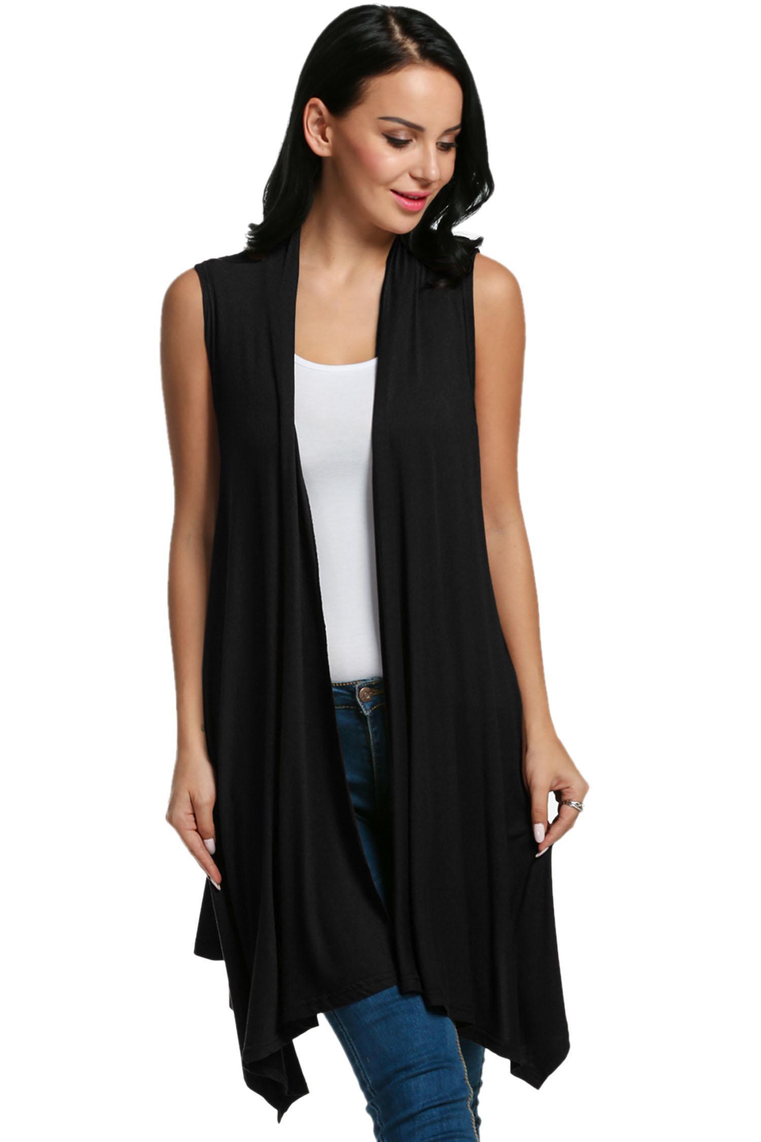 cc600f018 Meaneor Black Women's Sleeveless & Blazers | cndirect.com